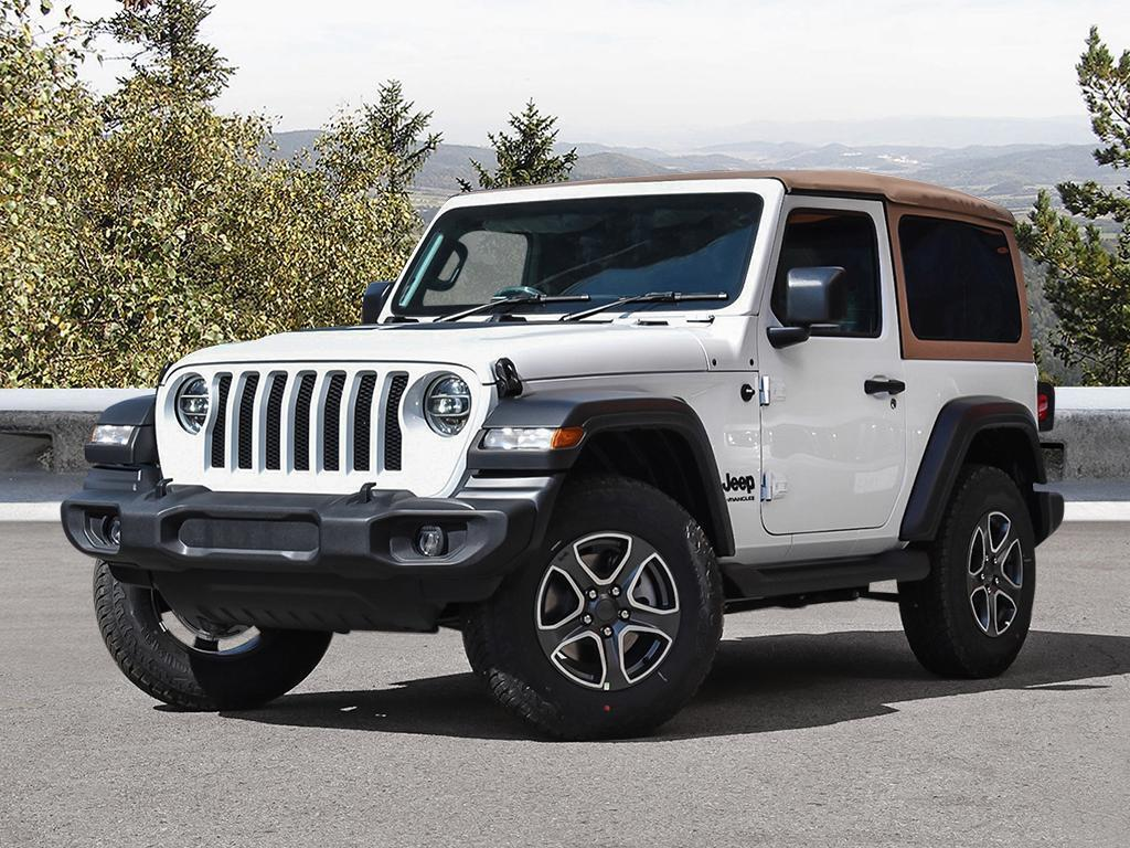 New 2020 Jeep Wrangler Willys Edition
