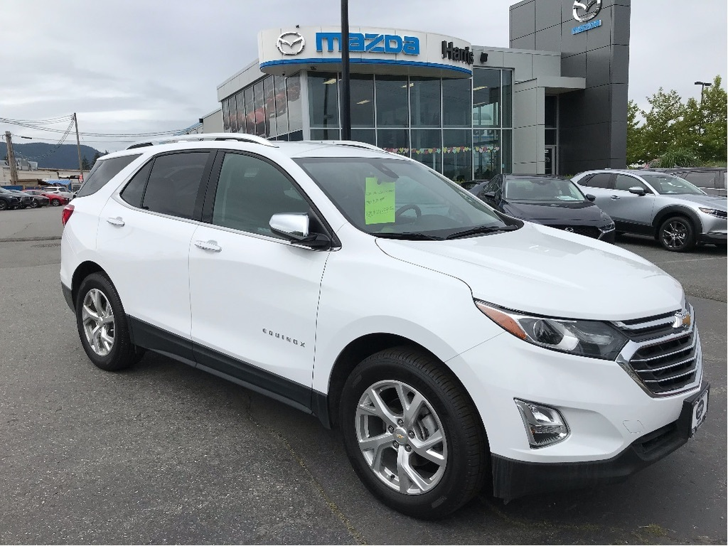 Pre-Owned 2020 Chevrolet Equinox PREMIER W REAR PARKING SENSORS & MORE!!