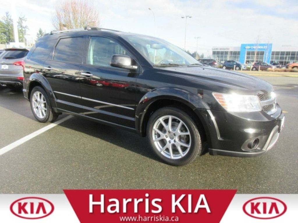 Pre-Owned 2013 Dodge Journey R/T AWD 7 Passenger Low kilometers