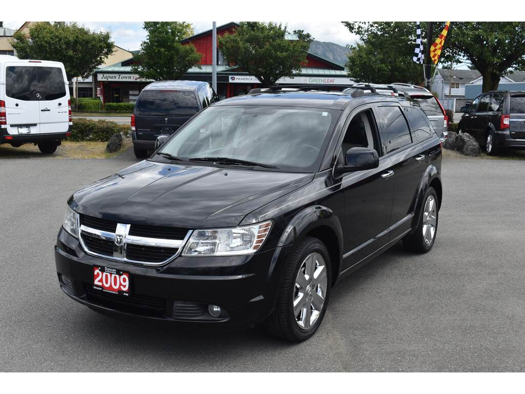 Pre-Owned 2009 Dodge Journey R/T AWD *LEATHER*