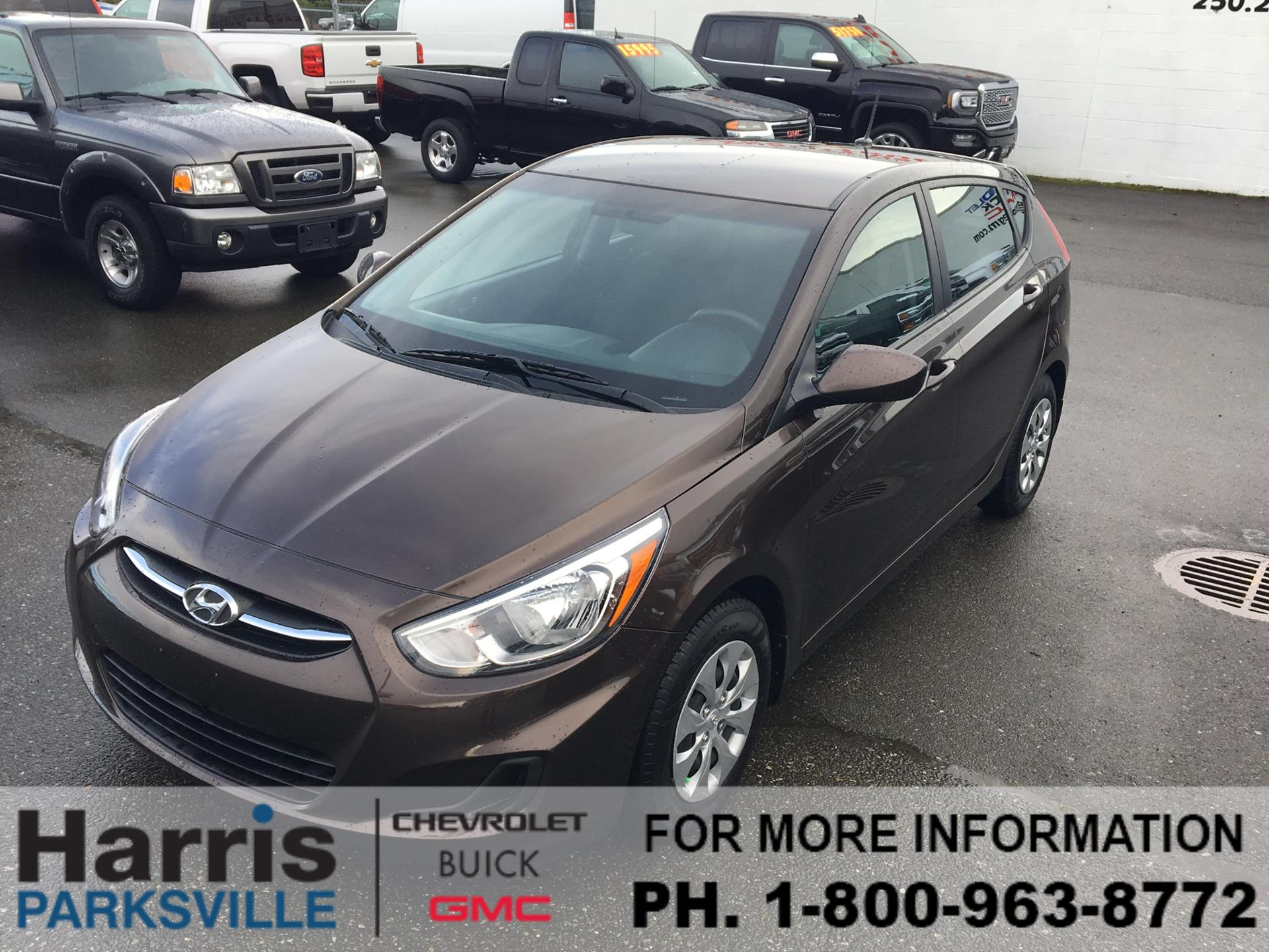 Pre Owned 2016 Hyundai Accent Hatchback 4 Door In