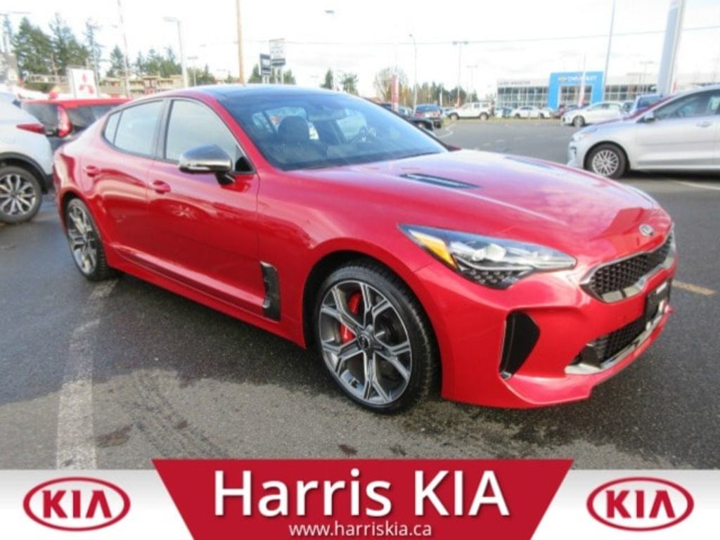Certified Pre-Owned 2018 Kia Stinger GT Limited AWD V6 Twin Turbo