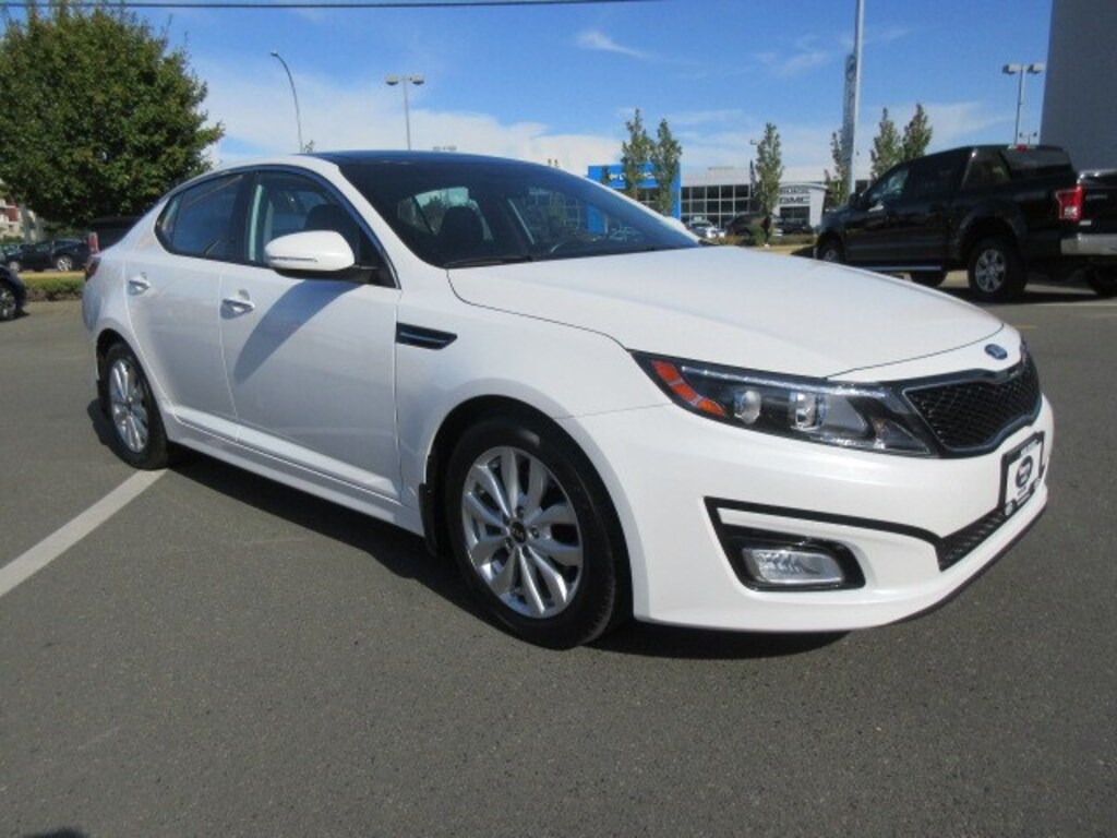 Pre-Owned 2015 Kia Optima EX Luxury Navigation Leather