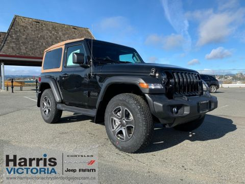 New 2020 Jeep Wrangler Black and Tan Edition