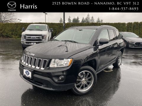 Pre-Owned 2013 Jeep Compass North With AWD Lock & Touch screen Display Four Wheel Drive Sport Utility
