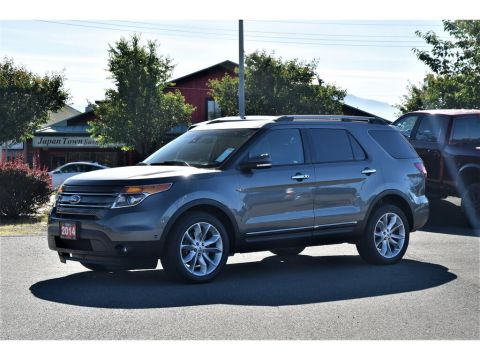 Pre-Owned 2014 Ford Explorer LIMITED *4X4**NAVIGATION*