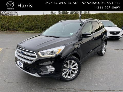 Pre-Owned 2017 Ford Escape TITANIUM With Key less entry & Navigation 4x4 Sport Utility
