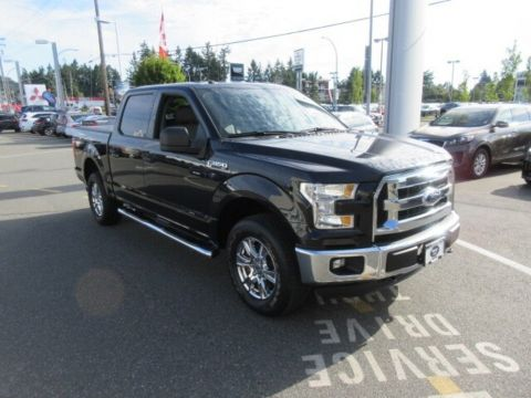 Pre-Owned 2016 Ford F-150 XLT 4x4 Crew Cab Low Kilometers