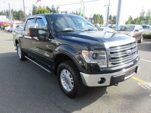 Pre-Owned 2013 Ford F-150 Lariat SuperCrew 4x4 Low Kilometers Navigation