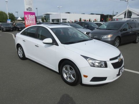 Pre-Owned 2014 Chevrolet Cruze 2LT Low Kilometers Turbo Leather