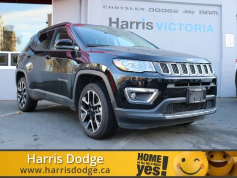 Pre-Owned 2017 Jeep Compass Limited,One Owner