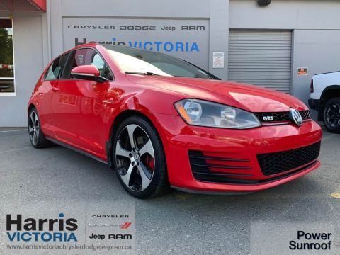 Pre-Owned 2015 Volkswagen Golf GTi Proximity Entry