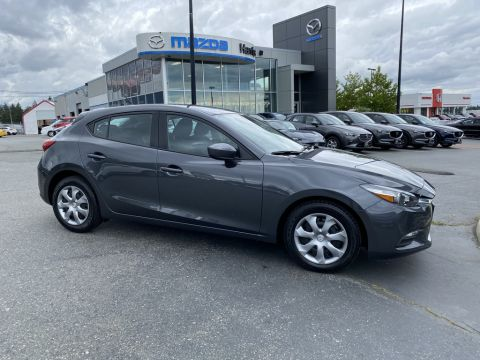 Pre-Owned 2017 Mazda3 LOW KM / CLEAN / ONE OWNER / MANUAL