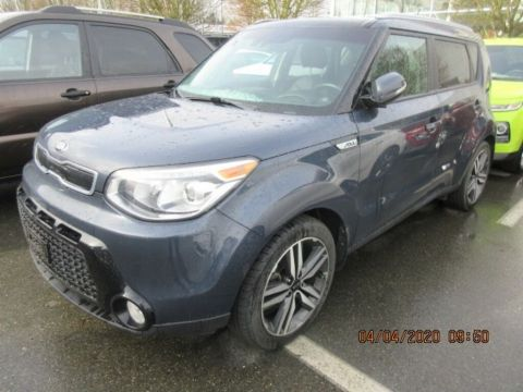 Certified Pre-Owned 2016 Kia Soul SX Luxury Navigation Pano Sunroof Leather Loaded! FWD Sedan