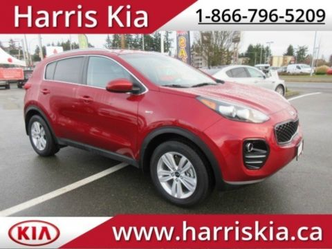 Certified Pre-Owned 2018 Kia Sportage LX AWD RATES AS LOW AS 0.90% O.A.C